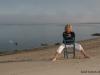 Joan on Beach